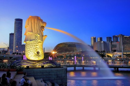 SINGAPORE - SENTOSA - GARDEN BY THE BAY (RAC)