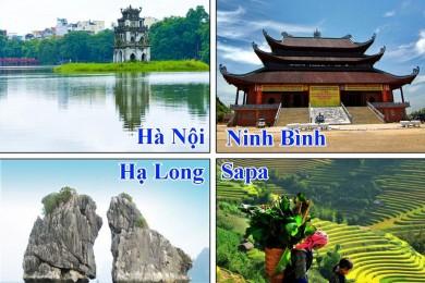 Hà Nội - SaPa - Fansipan - Tràng An - Hạ Long - Yên Tử (Bao gồm VMB)